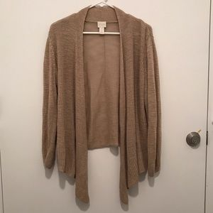 Chico's Open Sweater Cardigan